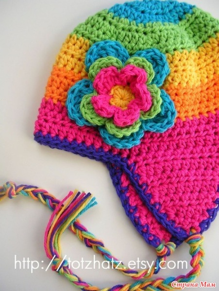 gorro-crochet-con-flor