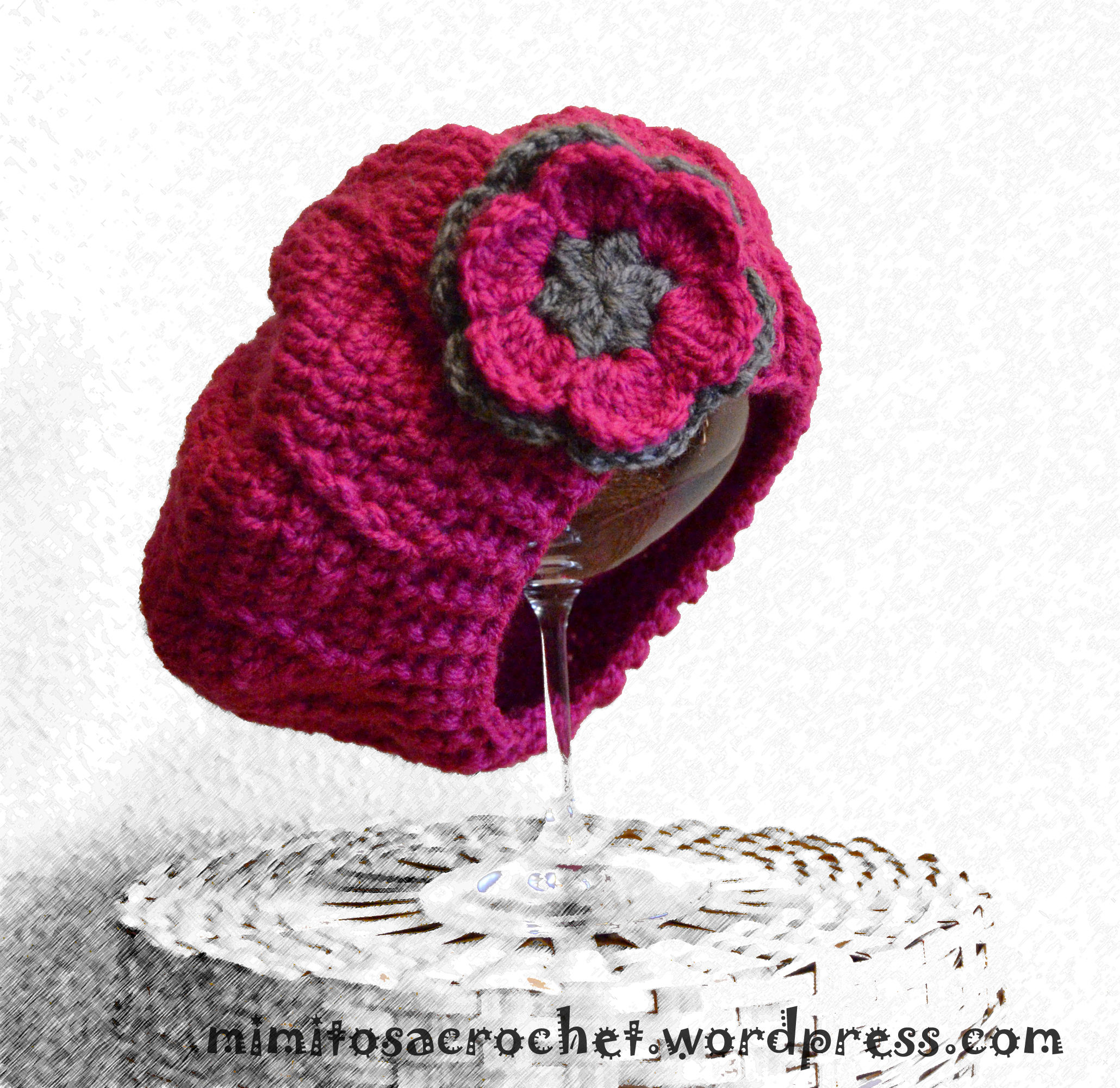 Patrones de boinas a crochet   diarioartesanal