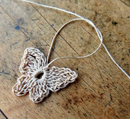 Esquemas de mariposas y flores a crochet | diarioartesanal