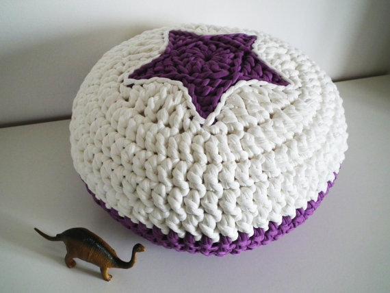 Tutorial cesto redondo con tapa de trapillo t shirt yarn - Bolas de ganchillo ...