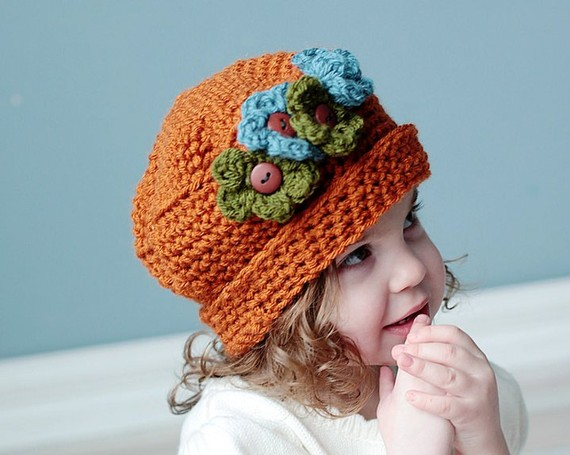 Divertidos gorros de crochet para bebés | diarioartesanal