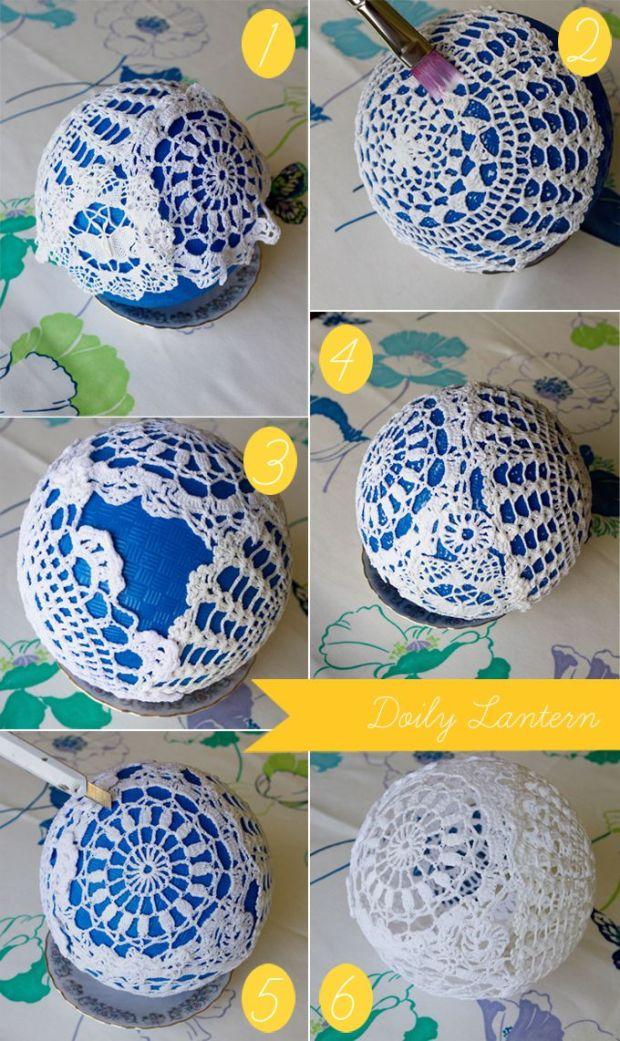 crochet-lampara