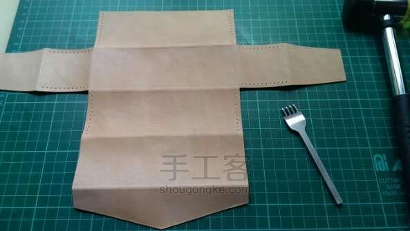Paso a paso: coser en cuero estuches o carteras | diarioartesanal