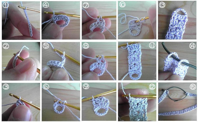 Crochet fácil: cómo tejer una vincha japonesa kachumu カチューム ...