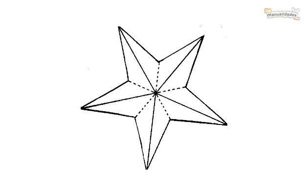 Plantilla estrella de 5 puntas imagui - Plantilla estrella navidad ...